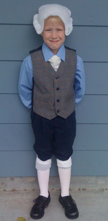 Thomas Jefferson Costume Kit Colonial Founding Fathers School Project Kit 61254