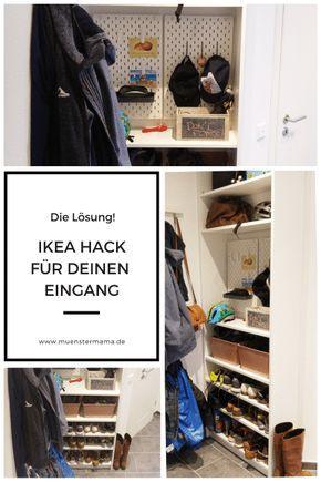 Ikea Hack Fur Den Flur Mini Flache Maxi Stauraum Ikea Ikea Hack Ikea Ideen