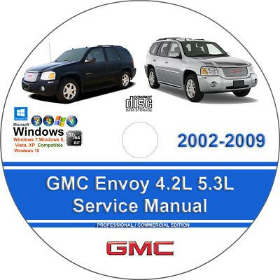 Advertisement Ebay Gmc Envoy 2002 2009 4 2l 5 3l Factory Workshop Service Repair Manual In 2020 Chilton Repair Manual Repair Manuals Dodge Charger Sxt