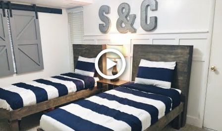 Twin Bed Diy Under 50 Diy Diy Headboard Videos Videos For