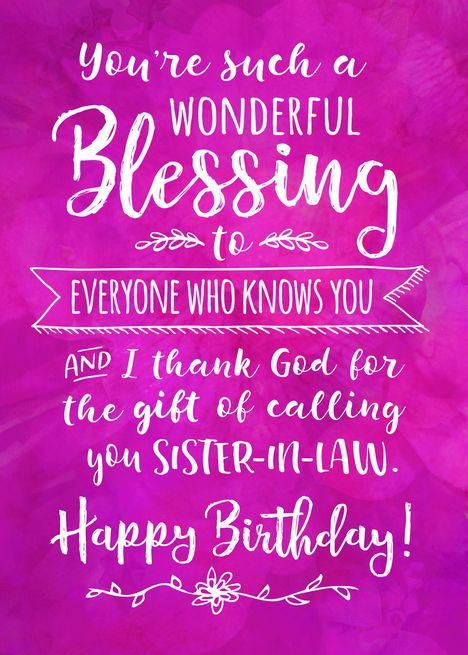 40+ Best Sister in law birthday ideas in 2020   sister in law birthday, happy birthday quotes, happy birthday sister