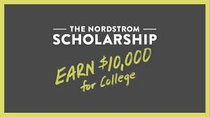 Nordstrom College Scholarship for High School Juniors: This scholarship is for high school juniors only!