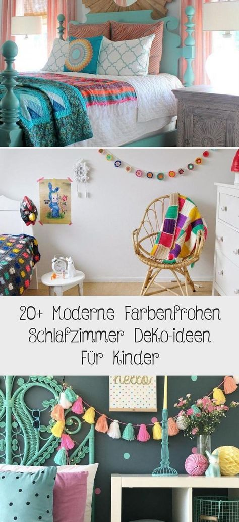 20 Moderne Farbenfrohen Schlafzimmer Deko Ideen Fur Kinder Schlafzimmer Deko Deko Ideen Babyzimmer Design