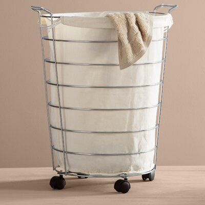 Wayfair Basics Wayfair Basics Rolling Laundry Hamper Laundry