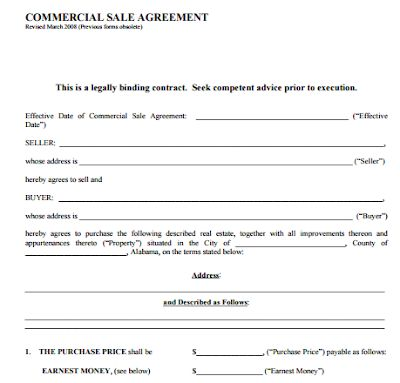 Simple Real Estate Purchase Agreement Pdf Simple