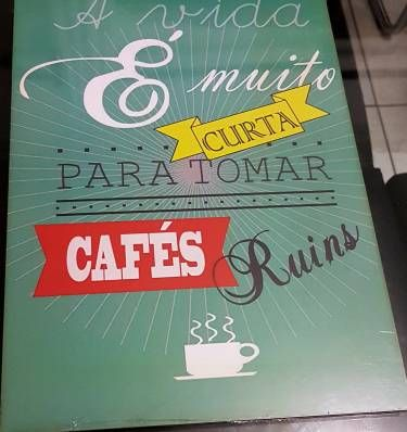 Placa Decorativa Coffee Break Decoracao Mk Importados Placas