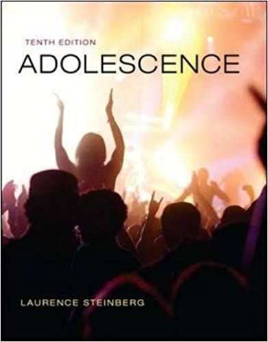 Adolescence 10th Edition By Laurence Steinberg Psychology Textbook Adolescence Textbook