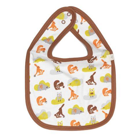 Fresk Bio-Design Lätzchen Eichhörnchen in Orange
