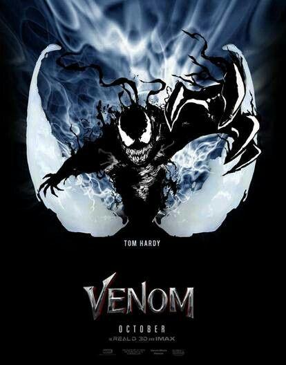 "2018 Venom Movie Poster Tom Hardy Action Horror Film Print 13x20/"" 24x36/"" 27x40/"""