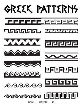 Greek Patterns Greece Art Greek Pattern Ancient Greek Art