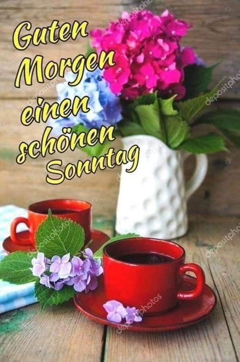 Guten morgen sonntag schöne bilder ll▷ Sonntagsgrüße