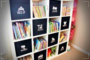 Cajas Organizadoras Ideas Espectaculares Para El Hogar Kids Bedroom Organization Ikea Toy Storage Ikea Boxes
