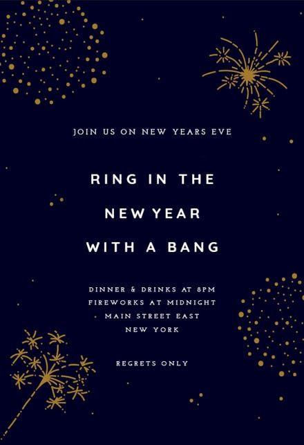 New Year Invitation New Year Invitation Template Free Greetings Island New Years Eve Invitations Party Invite Template Printable Invitation Templates