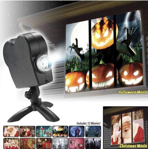 Window Wonderland Movie Projector - US
