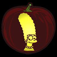 the simpsons homer pumpkin stencil cartoons comix stencils rh pinterest com simpsons pumpkin template