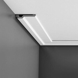 Drifts 2 Ft X 2 Ft Drop In Grid Mount Tile In White In 2020 Orac Decor Moldings And Trim Crown Molding