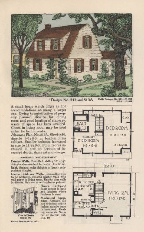 Pin By Fritzy Fresh On Small House Plans Vintage House House Plans Different House Styles
