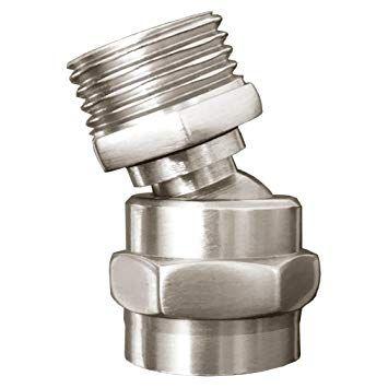 Missmin Shower Head Swivel Adapter Ball Joint Showerhead