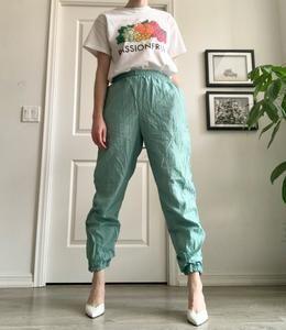 Vintage Seafoam Track Pants M Xl Leo Pants Fashion Forward Outfits Online Clothing Stores