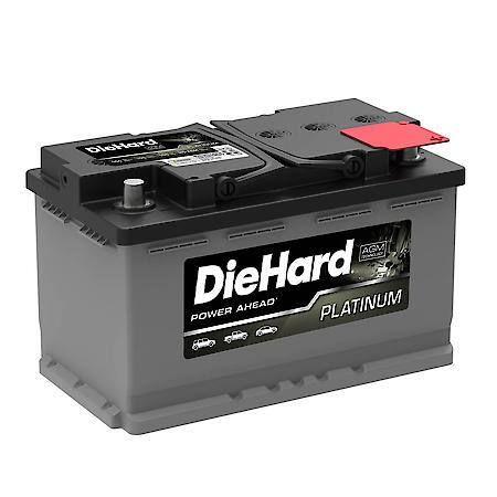 Diehard Platinum Agm Battery Group Size H7 850 Cca H7 Agm Battery Testing Car Battery Battery