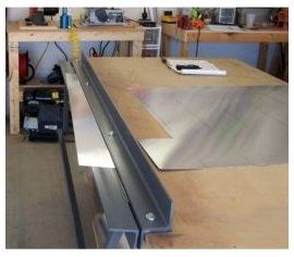 Homemade Sheetmetal Brake Sheetmetal Brake In 2020 Metal Bending Sheet Metal Sheet Metal Brake