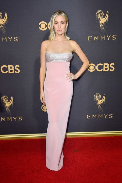 TV personality Kristin Cavallari attends the 69th Annual Primetime Emmy Awards.