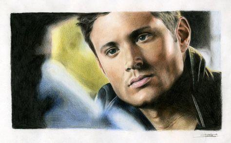 Jensen Ackles by eaglefour on @DeviantArt