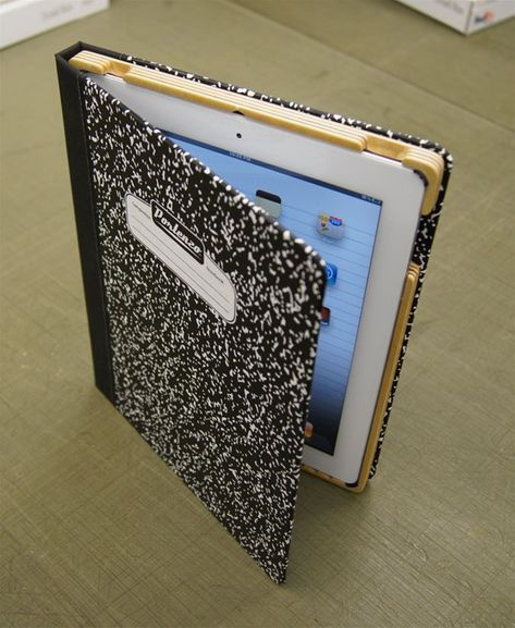 Tech Gadget: iHome iPad Cover - Composition notebook!