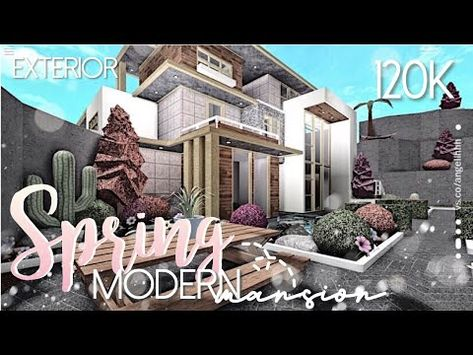 Roblox Bloxburg Cozy Aesthetic Family Home 91k 103 Best Bloxburg Mansions Images In 2020 Modern Family House