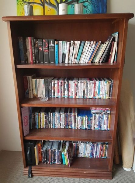 Solid Wood Bookcase Bookcases Shelves Gumtree Australia