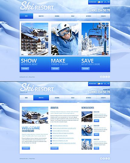 Real Estate Responsive Bootstrap Website Templates | Twitter