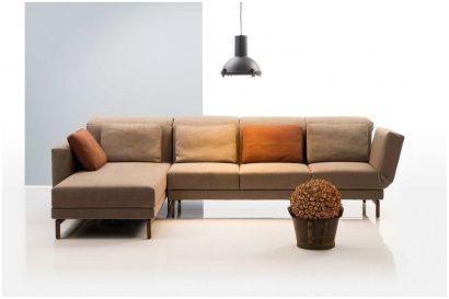 Antik Sofa L Form Grau Haus Dekoration Living Room Sofa