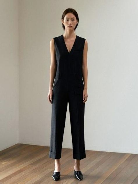 4b8dc5c724e5 Belted Wool Blend Boilersuit in 2019
