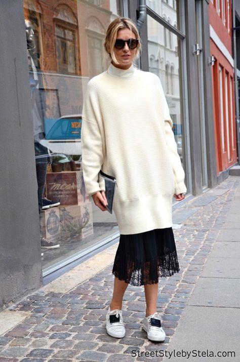 Camille Charrière in Copenhagen - Street Style by Stela