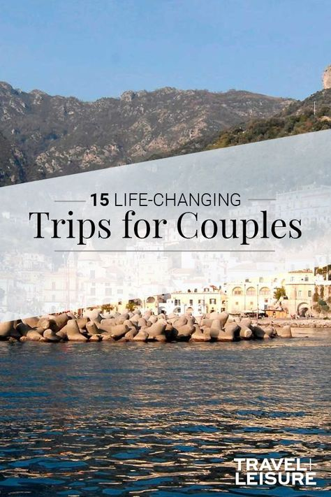15 Life-changing Trips for Couples to Take Together CouplesTrip WeekendGetaway TripsforCouples TravelIdeas Romantic Vacations, Romantic Getaways, Best Vacations, Romantic Travel, Vacation Destinations, Vacation Spots, Bahamas Vacation, Italy Vacation, Vacation Ideas