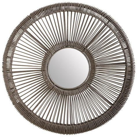 Spoke Wall Mirror