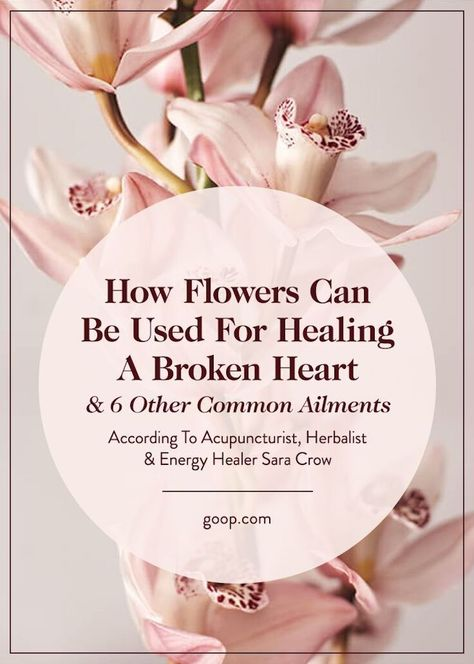 Floral Essences What Is A Floral Essence Can It Be Healing Goop Flower Essences Flower Essences Remedies Healing A Broken Heart