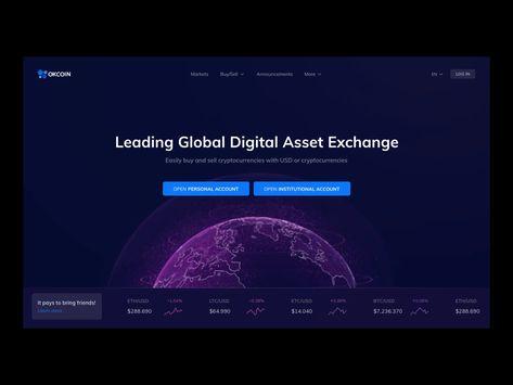OKCoin Homepage