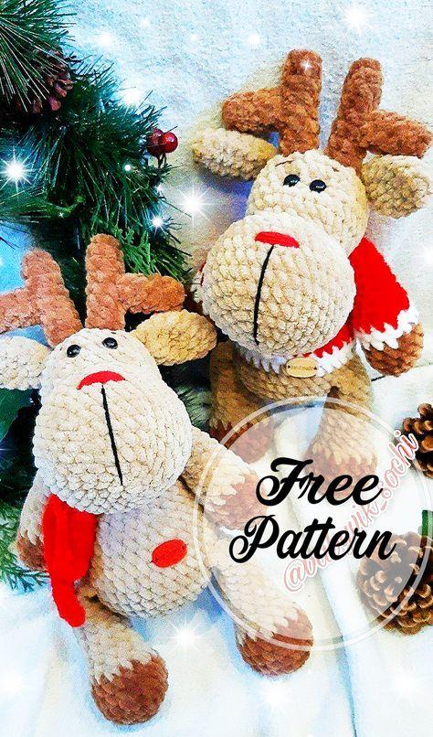 Adorable   Amigurumi navideño, Navidad amigurumi, Ganchillo navidad   806x474