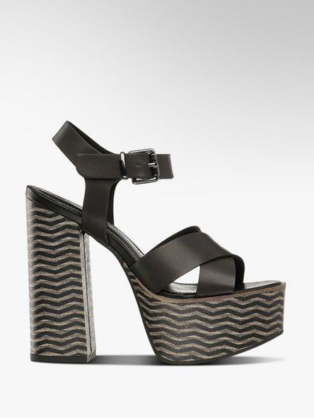 Sandalette von Catwalk in schwarz DEICHMANN | Sko in 2019