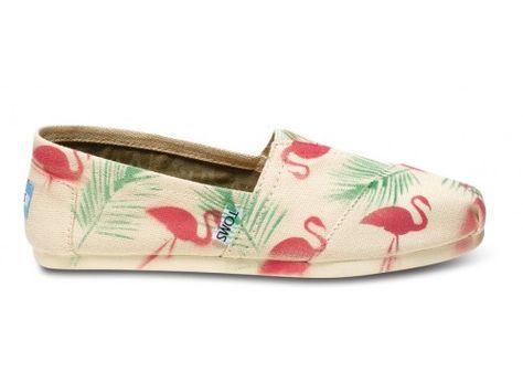 Gabriel Lacktman Pink Flamingo Women's Classics | TOMS.com #toms