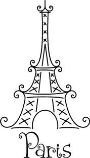 paris eiffel tower embellishmentpurchase - Paris Eiffel Tower Coloring Pages