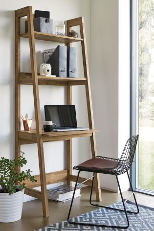 Bronx Ladder Desk Desk In Living Room Desks For Small Spaces Home Office Furniture