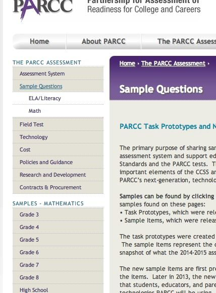 Parcc Partnership For Assessment Of Readiness For College And