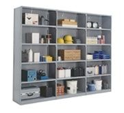Closed Clipper Shelving Units and Systems
