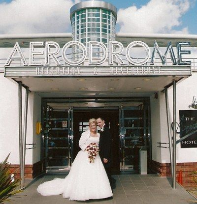 Wedding Venue At The Aviator Hotel Sywell Northamptonshire