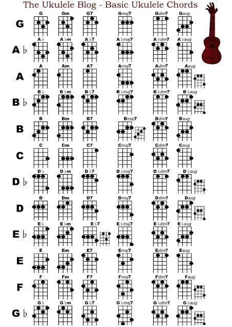 Basic Ukulele Chords SearchYahooCom  Guitar Lessons