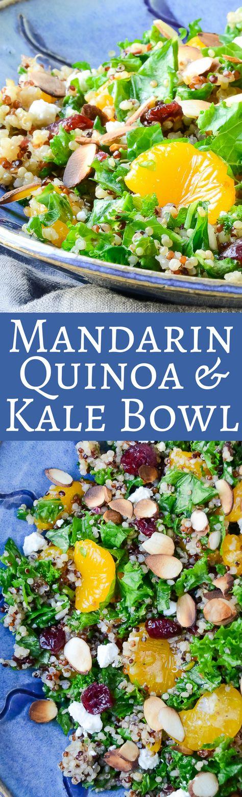 Mandarin Quinoa & Kale Bowl