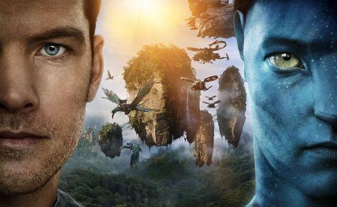 HD wallpaper: Sam Worthington As Jake Sully, Avatar movie poster, Movies, portrait
