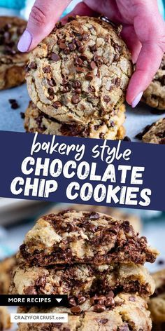 Brown Butter Chocolate Chip Cookies (Bakery Style)